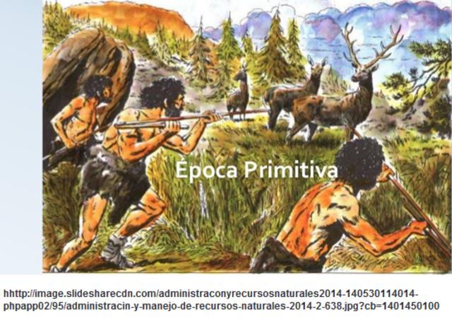ÉPOCA PRIMITIVA (Inicio aprox. 20.000 a.C.)