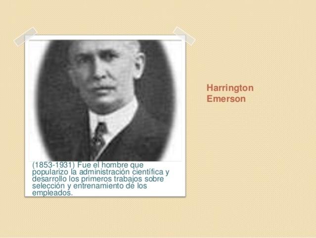 HARRINGTON EMERSON