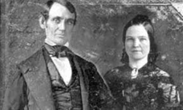 Abraham Lincoln gets married