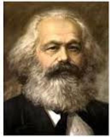 1818- 1883 Karl Marx  (imagen extraida de www.google.com.co)