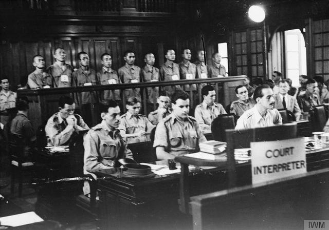 Japanese War Crime Trials