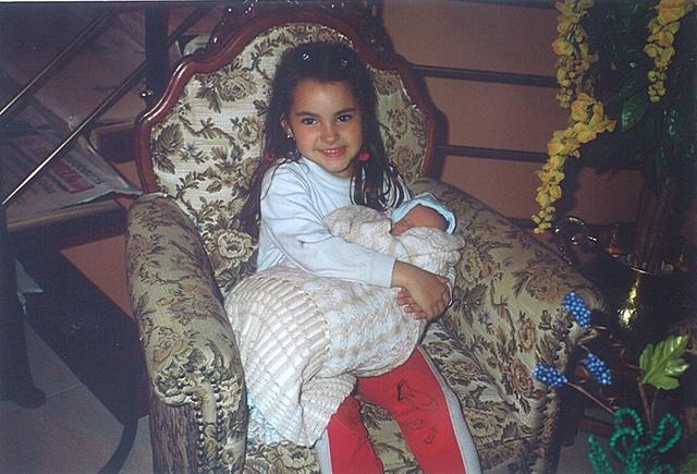 Nacimiento de mi hermana Lucía