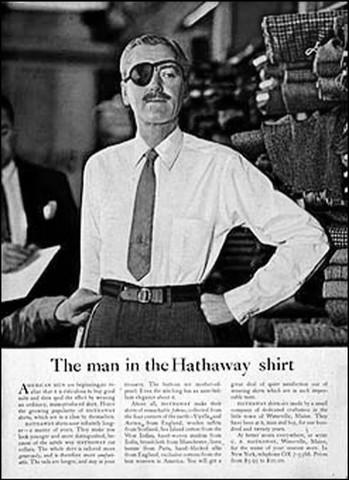 El hombre de la camisa Hathaway
