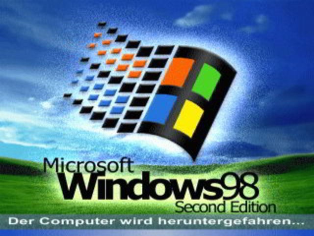 Windows 98 Segunda Edición (SE)