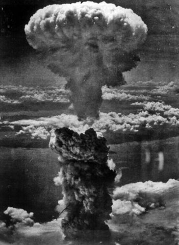 Dropping of the Atomic Bomb on Nagasaki
