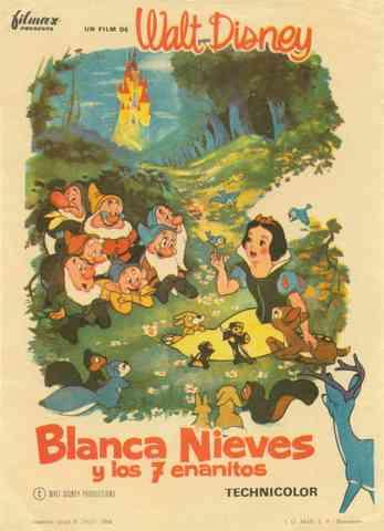 WD - Blanca Nieves y los siete enanitos