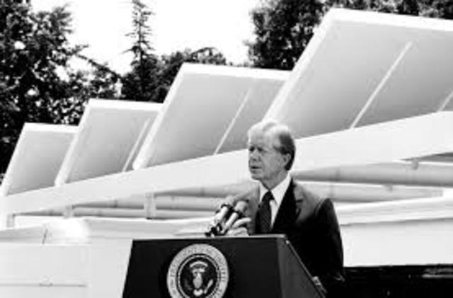 President Carter Delivers the Popular Energy Speech