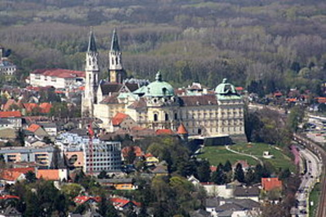 The  Klosterneuburg Monastery (Group of Various Architects)
