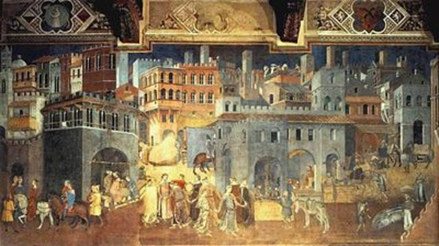 The Effects of Good Government (Ambrogio Lorenzetti)