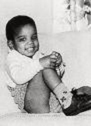 The king of pop is born