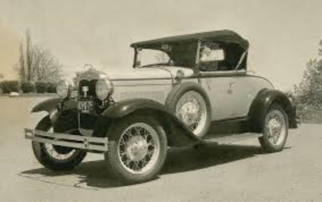 Model A Built and F.M.C Started