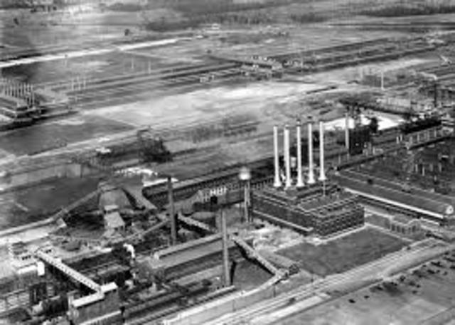 Construction of River Rouge Complex