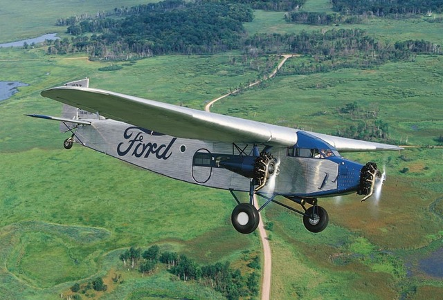 Ford Begins Tri-Motor Planes and Airline Industry