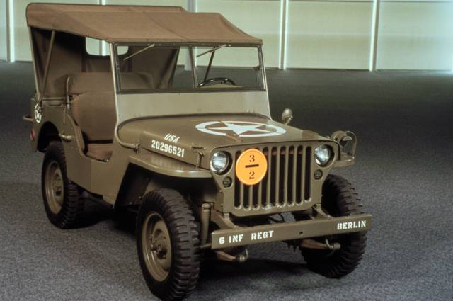 Ford Begins making Jeeps for U.S Military