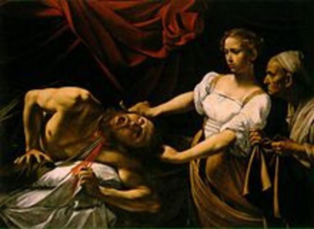Judith Slaying Holofernes Continued (Gentileschi)