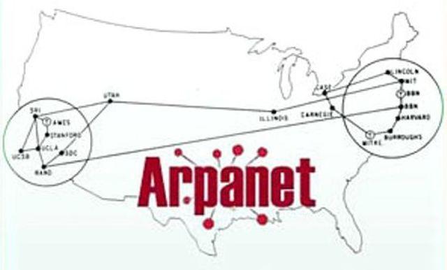 За сетью ARPANET закрепился термин «Интернет»