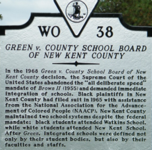 Green vs. County School Board of New Kent County