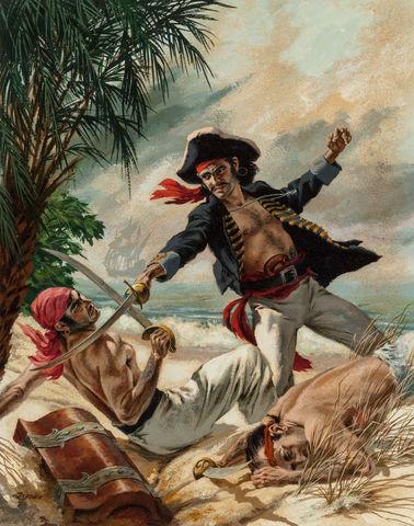 Invasão de piratas