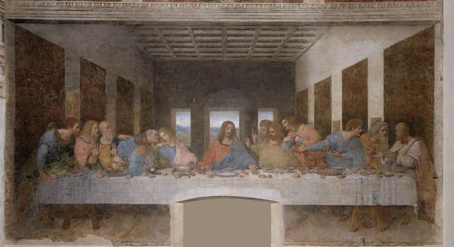 The Last Supper – Leonardo da Vinci.