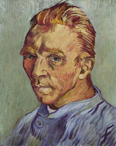 Self-Portrait Without Beard – Vincent van Gogh.