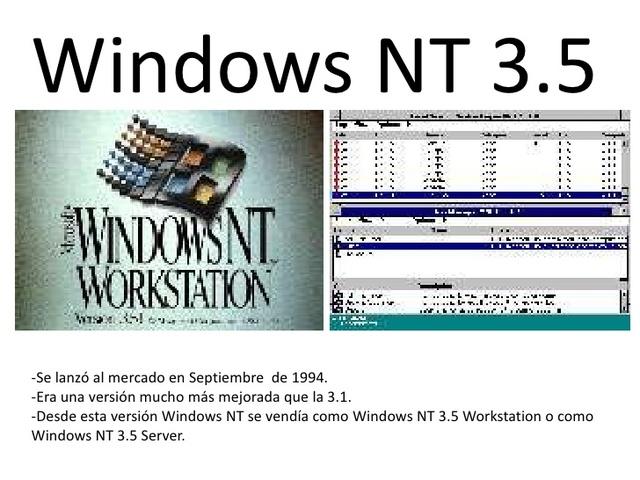 Windows Server NT 3.5