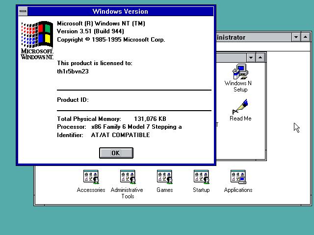 Windows Server NT 3.51