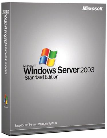 Windows server 2003 Standard Edition