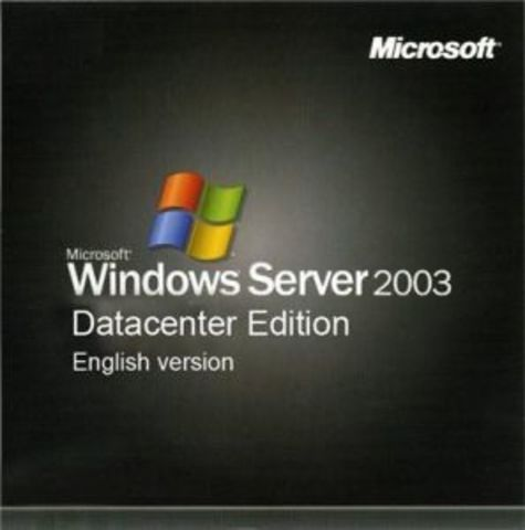 Windows Server 2003 Datacenter Edition