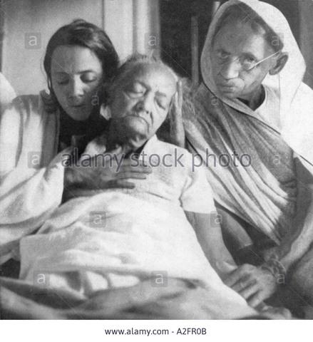 Kasturbha Gandhi Dies