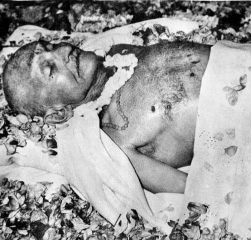 Mahatma Gandhiji's assasination