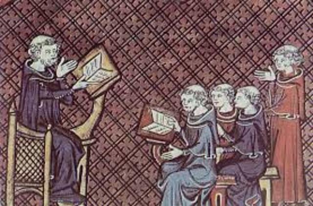 Primeras Escuelas Monásticas