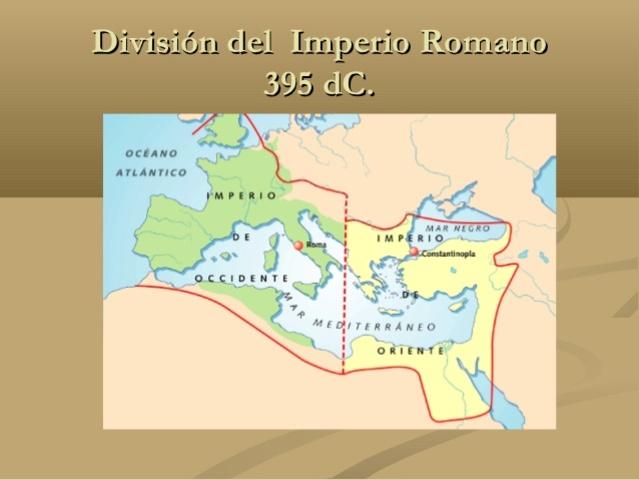 Inicio del Imperio Bizantino