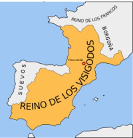 Invasiones en España Visigoda