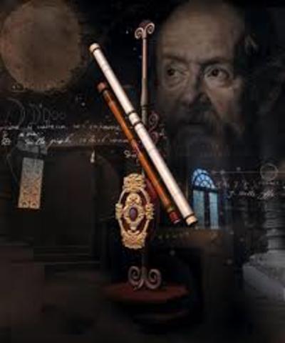 Galileo y el telescopio