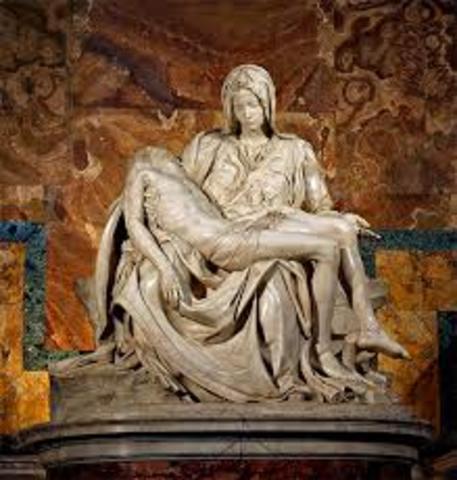 Escultura- La piedad de Miguel ängel