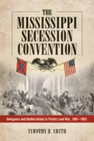 Mississipi Secession