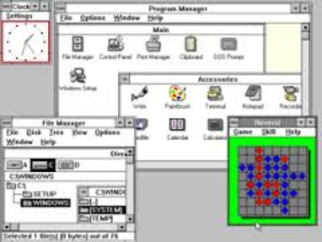 Windows 3.0 y Windows 3.1