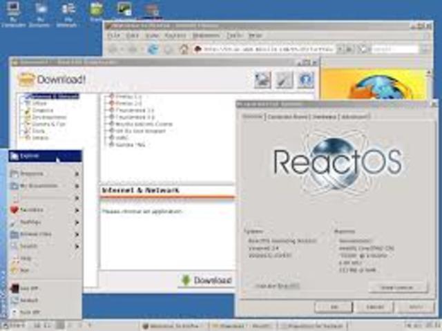 ReactOS 0.2.9.