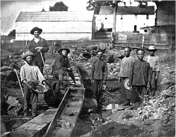Gold Rush brings many to California