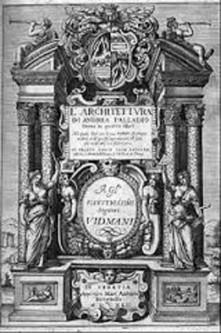 Los cuatro libros de la Arquitectura, de A. Palladio