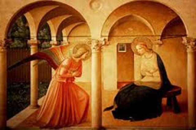 Fra Angelico: La Anunciación