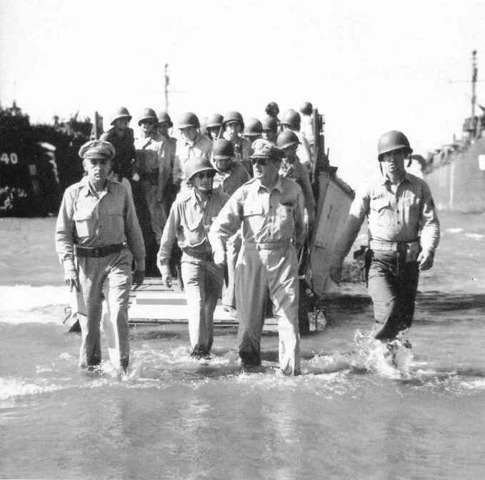 MacArthur returned to the Phillipines