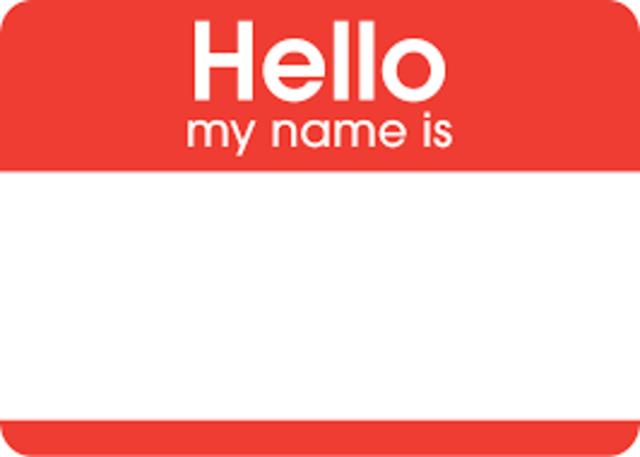 The naming of Names -Start