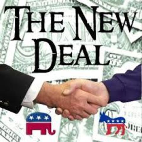 Who were the people sopporting the New Deal ?