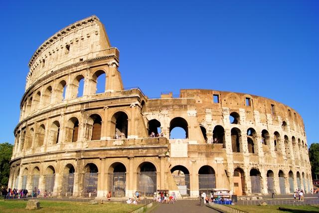 Su viaje a Roma