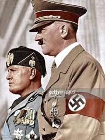 Mussolini est libéré par les allemands