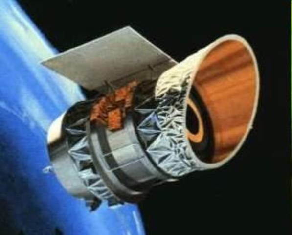 Satélite IRAS - astronomía infrarroja