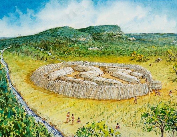 Installation des premiers villages Iroquoiens