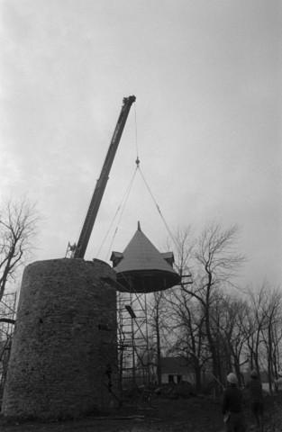 Construction du Parc historique de la Pointe-du-Moulin