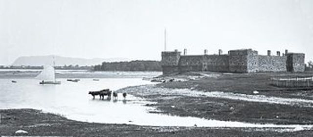Construction du Fort-Chambly